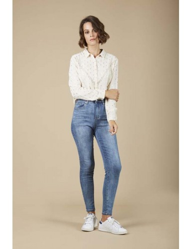 Jean slim Andy taille haute...